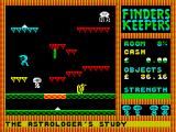 Finders Keepers ZX Spectrum Some precise jumps here