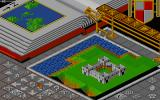 Populous DOS Build suitable flat farmland for your followers