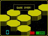 Collision Course ZX Spectrum Game over
