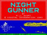 Night Gunner ZX Spectrum Loading screen