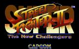 Super Street Fighter II DOS Title screen