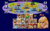 Super Street Fighter II DOS Fighter selection screen