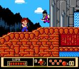 Jackie Chan's Action Kung Fu NES Here comes an unlucky enemy