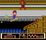 Jackie Chan's Action Kung Fu NES Watch those tipping platforms