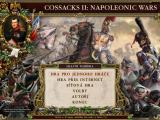 Cossacks II: Napoleonic Wars Windows Main Menu