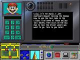 Mario is Missing! DOS Message from Mario