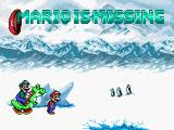 Mario is Missing! DOS Opening Screen