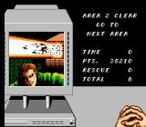 Code Name: Viper NES Our hero's handiwork after level 2.