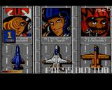 U.N. Squadron Amiga Choose your pilot