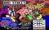 Bad Street Brawler DOS Title picture