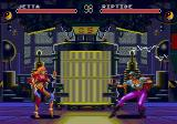 Eternal Champions: Challenge from the Dark Side SEGA CD Jetta vs. Riptide