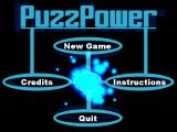 PuzzPower Windows The Main Menu