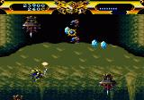 Lords of Thunder SEGA CD Nothing good is coming down.