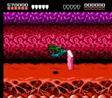 Battletoads NES Much of the Turbo Tunnel consists of racing through on a turbo bike and dodging obstacles