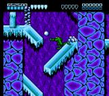 Battletoads NES Reduce a snowman into a pile of snowballs for your own offensive use