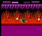 Battletoads NES And quickly turns into the fire realm where you pilot a jet through deadly fireballs and firewalls