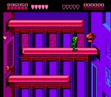 Battletoads NES The Intruder Excluder, level 8, is where you make your way up some sort of power plant