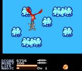 IronSword: Wizards & Warriors II NES For your egg trouble, he gives you a literal lift up to the cloud world.