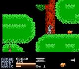IronSword: Wizards & Warriors II NES Next is the forest realm.