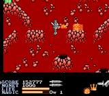 IronSword: Wizards & Warriors II NES Inside a volcano.