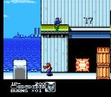 Contra Force NES Make things go boom