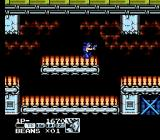 Contra Force NES Conveyor belts-- another platform mainstay; this is the Beans character