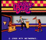 Double Dare NES Title screen