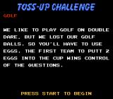 Double Dare NES Next toss-up challenge.