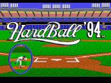 HardBall 4 Genesis Title screen