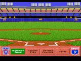 HardBall 4 Genesis Main menu