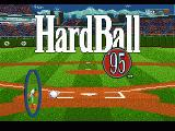 HardBall 5 Genesis Title screen