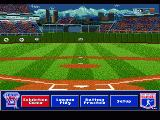 HardBall 5 Genesis Main menu