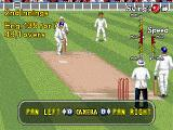 Brian Lara Cricket '96 Genesis You can change the angle in the game.