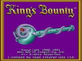 King's Bounty Genesis Title screen