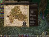 Dungeon Siege II Windows Map screen