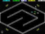 3D Stock Car Championship ZX Spectrum Track 1 starting grid for qualifying