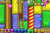 Aero the Acro-Bat Game Boy Advance Climb ladders...