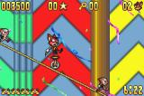 Aero the Acro-Bat Game Boy Advance Use the unicycle to get rid of those tiny clowns.
