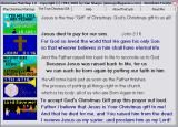 Christmas Matchup Windows This tab shows how to become a Christian