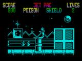 Gunrunner ZX Spectrum Lining up to shoot out the turret