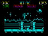 Gunrunner ZX Spectrum Using the limited Jet Pac boost