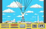 Sly Spy: Secret Agent Atari ST Parachuting to safety