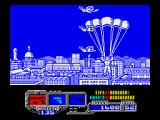Sly Spy: Secret Agent ZX Spectrum Landing