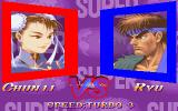 Super Street Fighter II Turbo DOS Chun Li vs Ryu