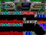 Terminus: The Prison Planet ZX Spectrum Careful with the lava pits