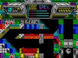 Terminus: The Prison Planet ZX Spectrum Spex bounces around the screen