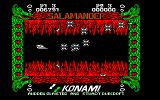Life Force Amstrad CPC Numerous enemies attack on the fire level