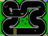 Championship Sprint ZX Spectrum The cyclone must be avoided