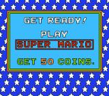 Nintendo World Championships 1990 NES Play Super Mario - Get 50 coins
