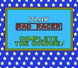 Nintendo World Championships 1990 NES Play Rad Racer - Complete the course